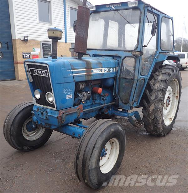 Ford 6600 Tractor : Used ford tractors for sale mascus usa