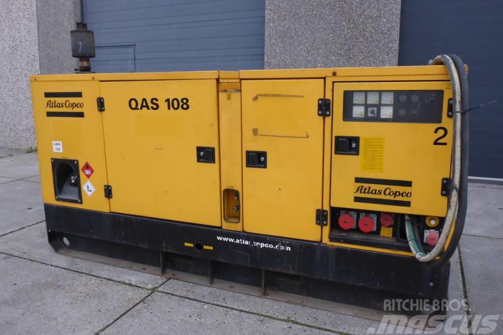 Atlas Copco QAS108 | Perkins 1006 | 108 KVA | SNS1186