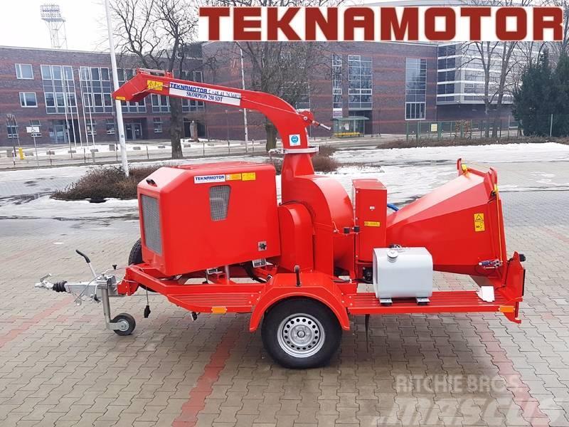 Teknamotor Skorpion 250 SDT Trommelhacker Holzhacker