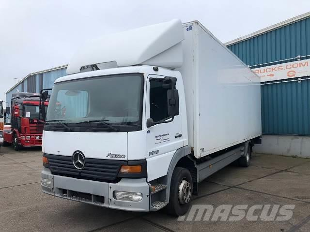 Mercedes-Benz ATEGO 1218 FULL STEEL CLOSED WITH TAILLIFT (11.990
