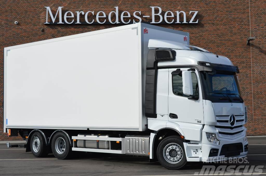 Mercedes-Benz Actros 2551L 6x2 typ Startklar PLS Transport skåp