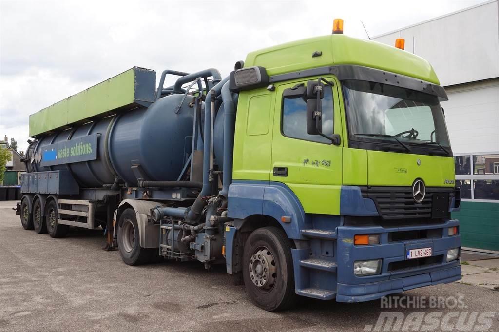 Renders / Mercedes Vacuum Tank Combi 28.100 Liter / ADR /