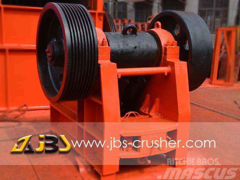 JBS PE400*600 jaw crusher price 50tph stone crusher