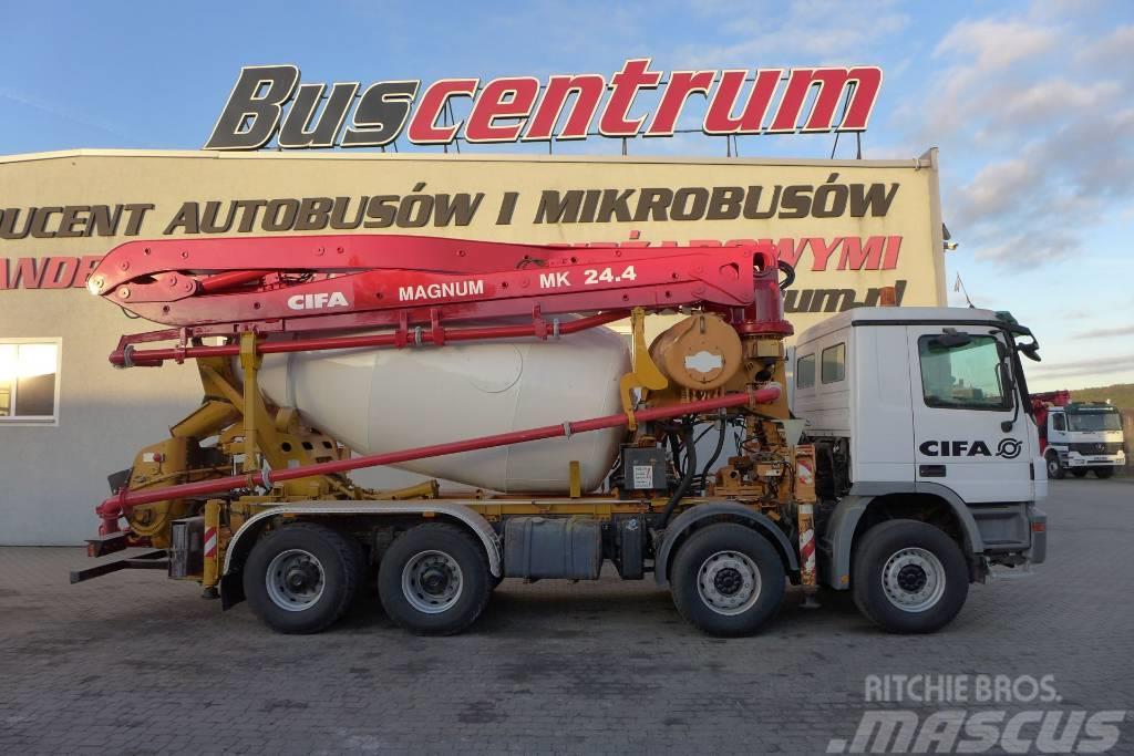 Mercedes-Benz Actros 3244 8x4 Pump CIFA 24.4 m