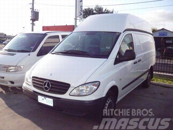 Mercedes Benz Vito 109cdi Compact Crew Cab Panel Vans Year