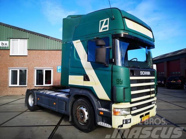 Scania R 114 LA 4X2 NA 380 / RETARDER / MANUEL / TOPLINE
