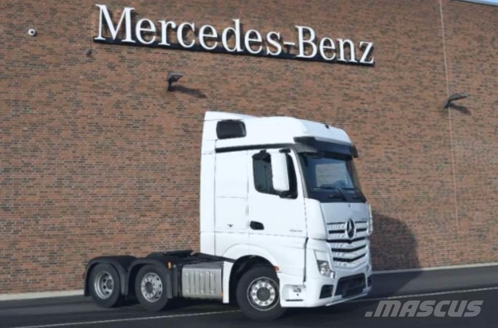 Mercedes-Benz Actros 2546 Pusher