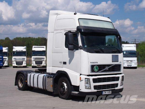 Used Volvo Fh 440 Tractor Units Year  2008 Price   15 777