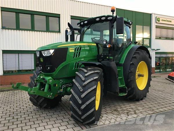 john deere 6195r ultimate autopowr 50km h barsinghausen ot. Black Bedroom Furniture Sets. Home Design Ideas
