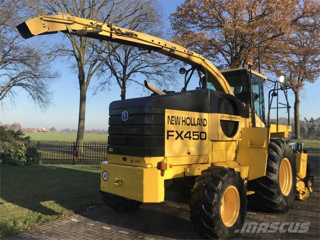 New Holland Fx 450 - Kemper 4500 - Pick up