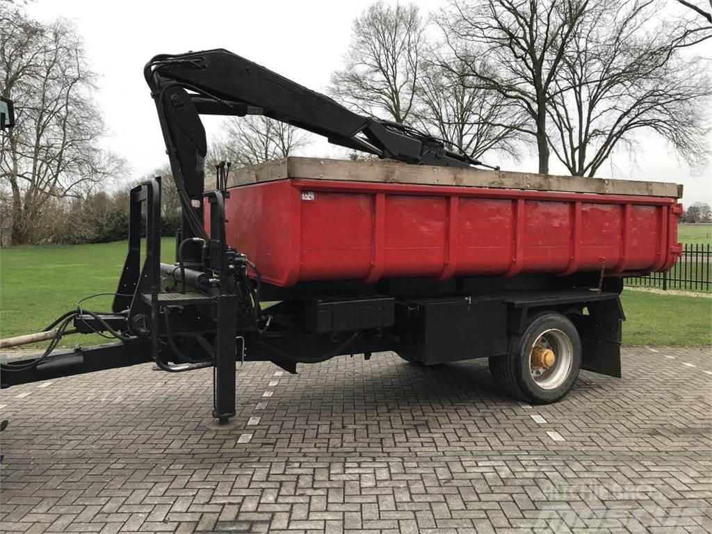 [Other] kiepwagen met kraan