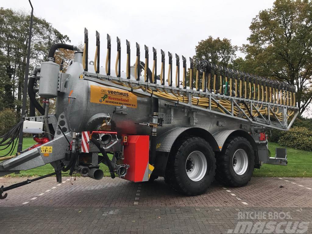 Veenhuis 19000 liter met 18 meter bemester