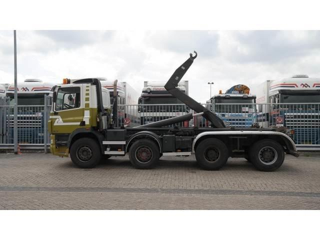 Ginaf X 4241 S/430 8X4 HOOKARM CONTAINER TRANSPORT MANUA