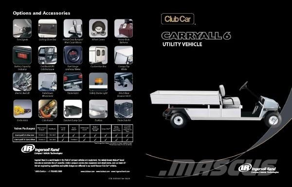 Club Car Carryall 6 Electric IQ Plus System