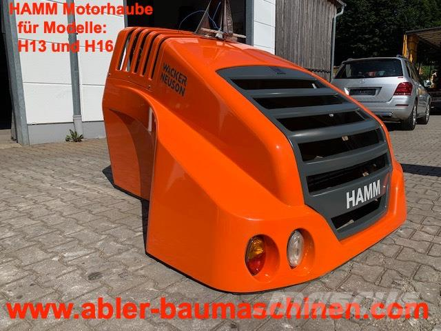 Hamm H13 H16 Motorhaube