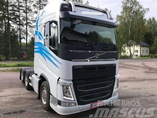 Volvo Fh540 hydrauliikka, HTC mitat
