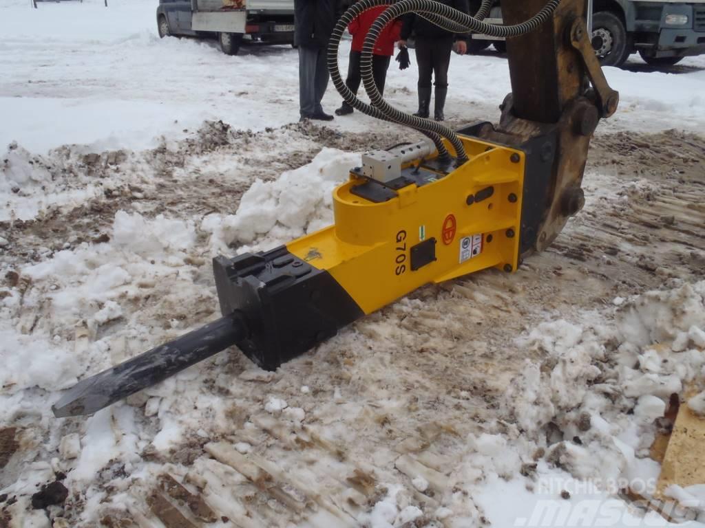 [Other] Młot hydrauliczny TUR DB G70S 1300kg 120mm