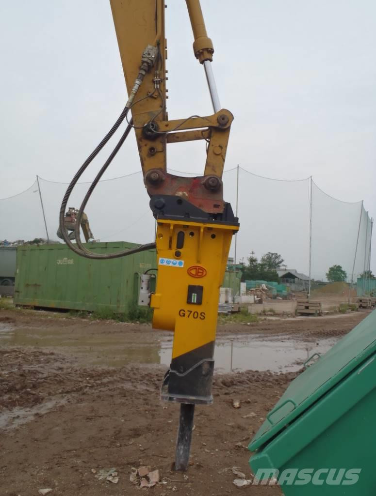 TUR DB G70S 1300kg 120mm, 2017, Hydraulhammare
