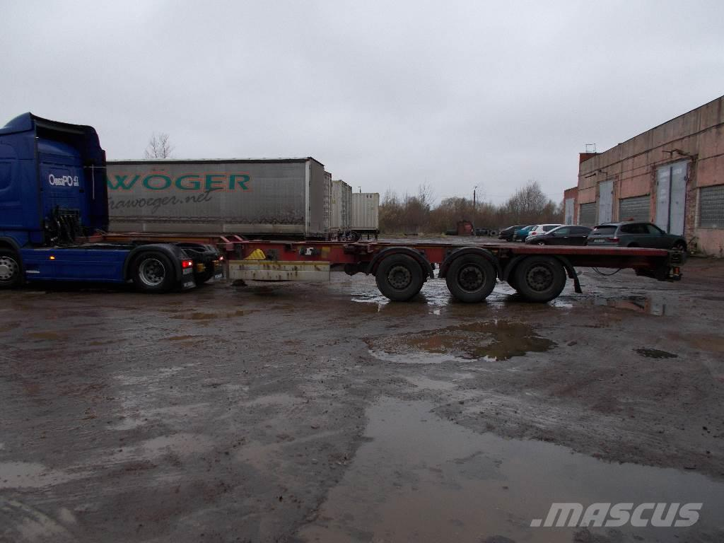 Schmitz Cargobull SCF 24G-40 FX