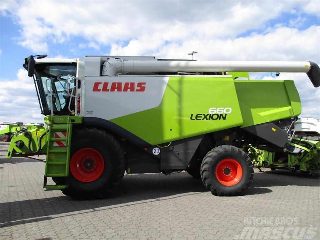 CLAAS LEXION 660 ALLRAD