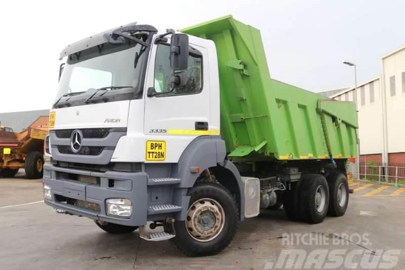 Mercedes-Benz Axor 3344 6x4 12m3 Tipper