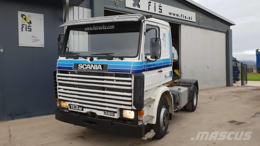 Scania 113M 320 4X2 tractor unit - SPRING