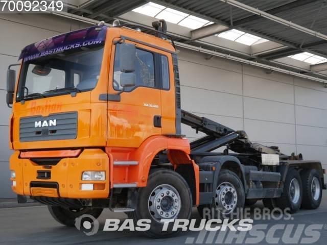 MAN TGA 35.463 M TGS 35.460 8X4 Manual Big-Axle Steels