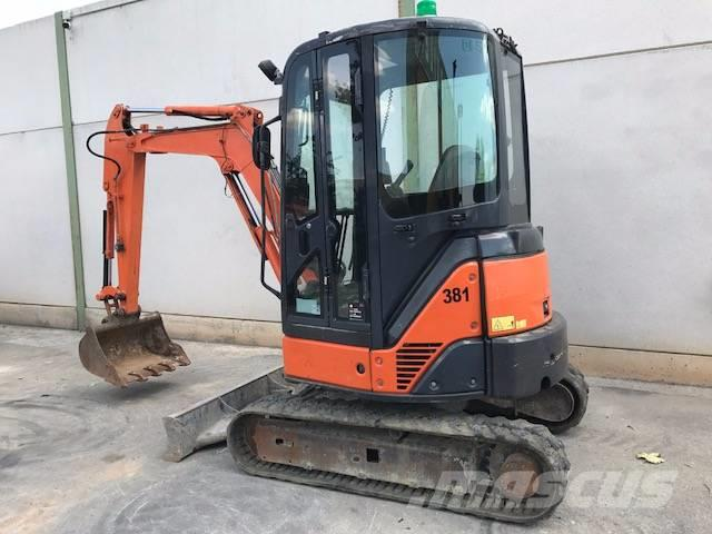 Hitachi ZX 27, 2010, Mini ekskavatori < 7 t