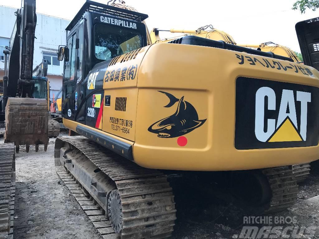 Caterpillar caterpillar 320D crawler excavator