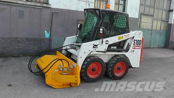 Ghedini DC 13 bush cutter for skid loader