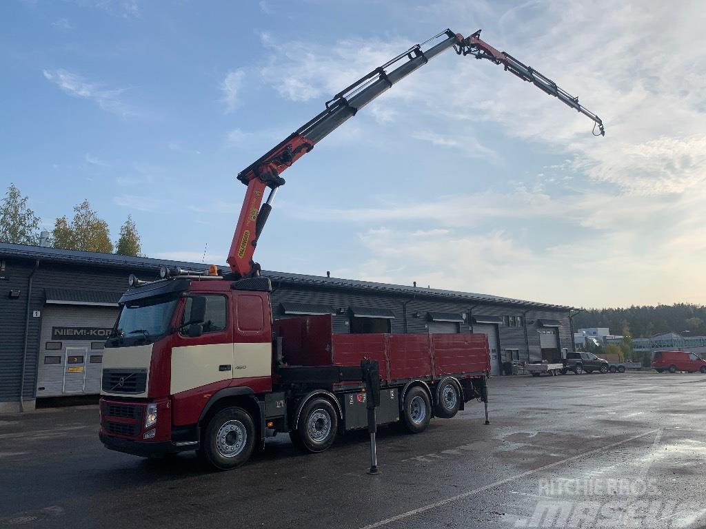 Volvo FH13 460 PK34002 + jib