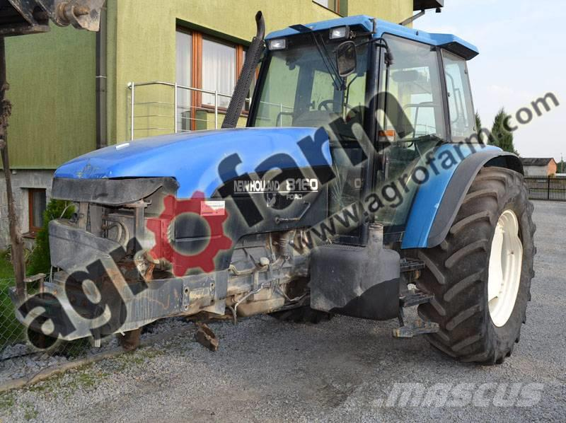 New Holland TM190, M135, TL, L, T7050, TL90A, T6070, T7.220