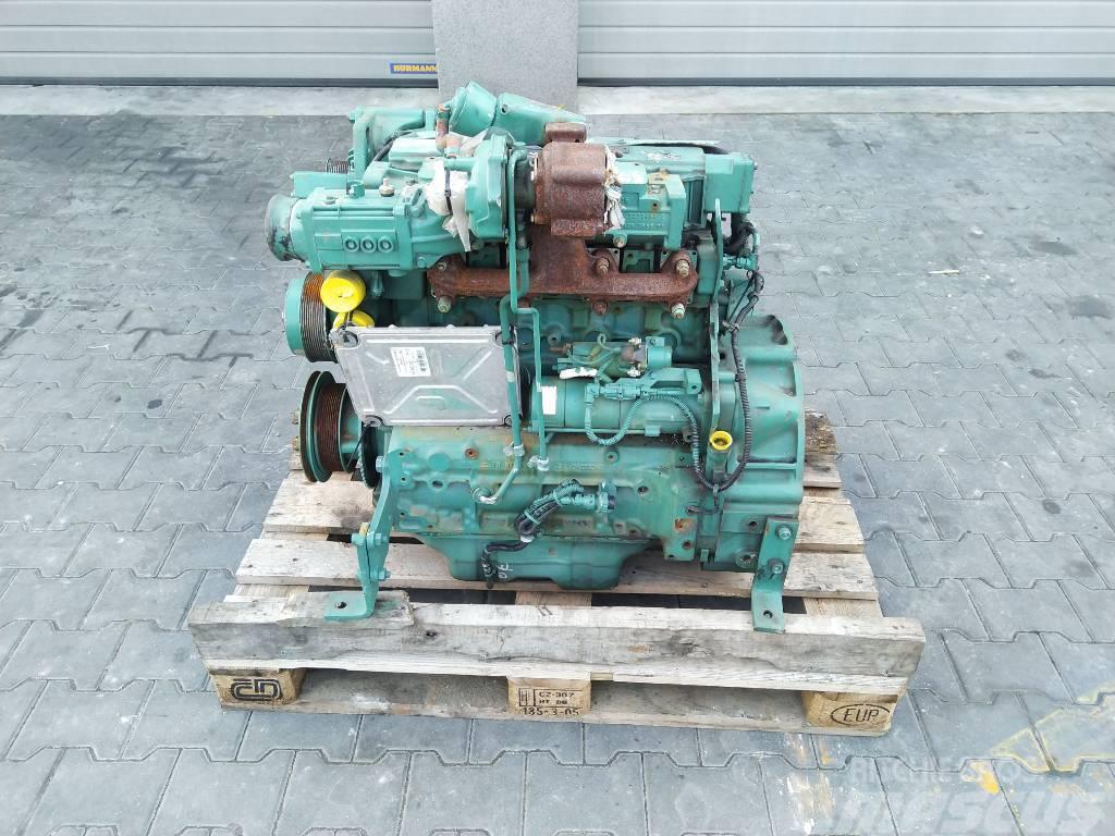 Volvo Silnik Engine Motor D4E EBE3 Deutz TCD 2012 L04 Co