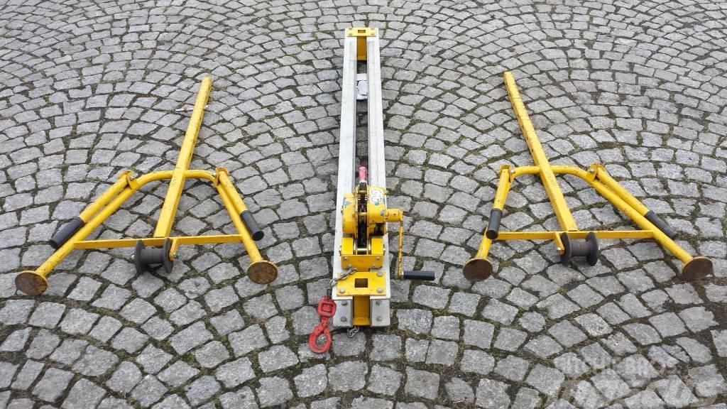[Other] Urządzenie do podnoszenia i wymiany szyn kolejowyc