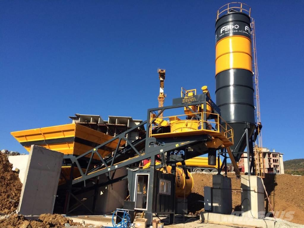 Fabo TURBOMIX-60 MOBILE CONCRETE PLANT | HIGH QUALITY