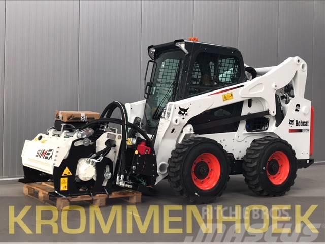 Bobcat S 770 HF + Simex PL1000