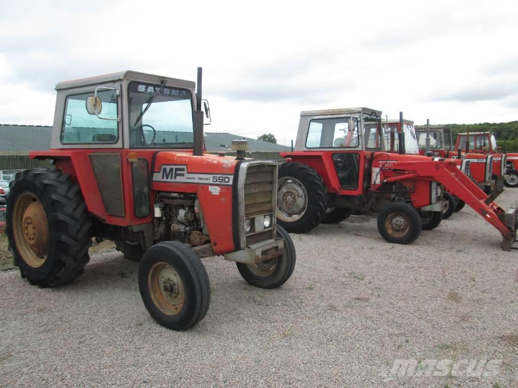 massey ferguson 590 occasion ann e d 39 immatriculation 1976 tracteur massey ferguson 590. Black Bedroom Furniture Sets. Home Design Ideas