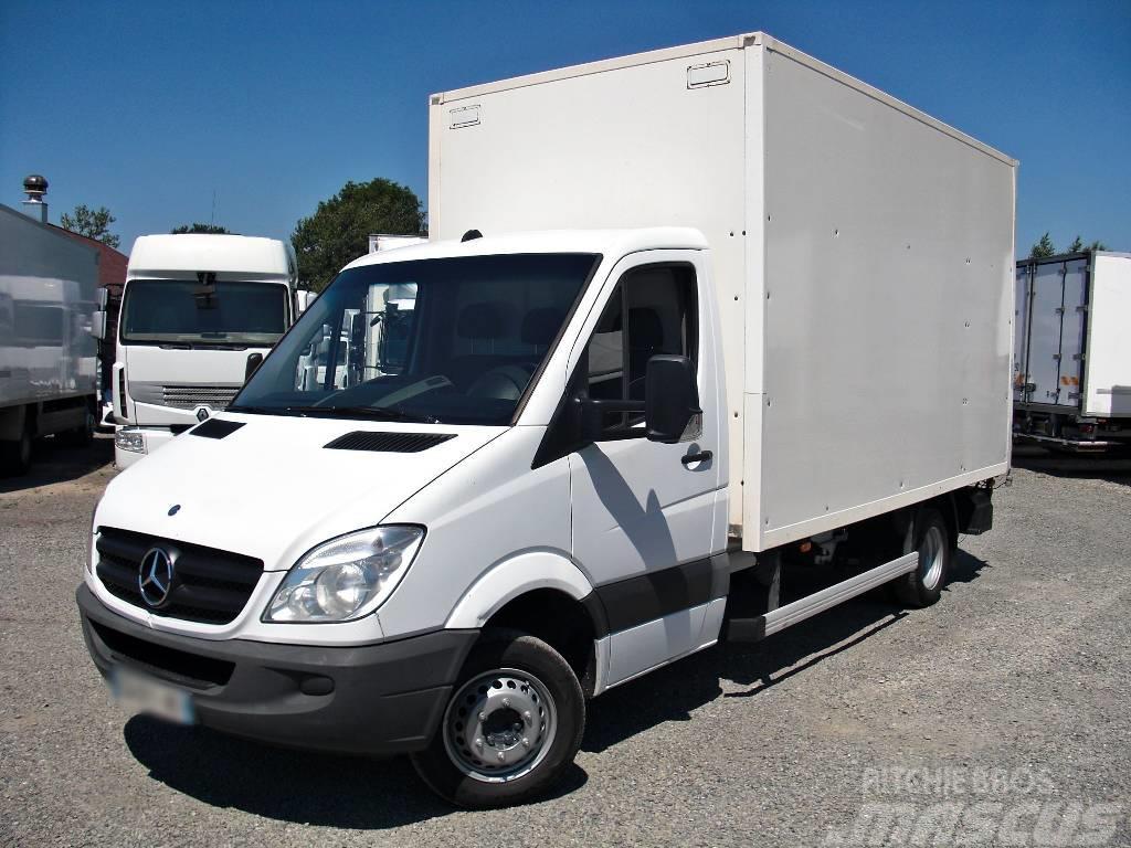 used mercedes benz sprinter 516 316 koffer box 8 pallets. Black Bedroom Furniture Sets. Home Design Ideas