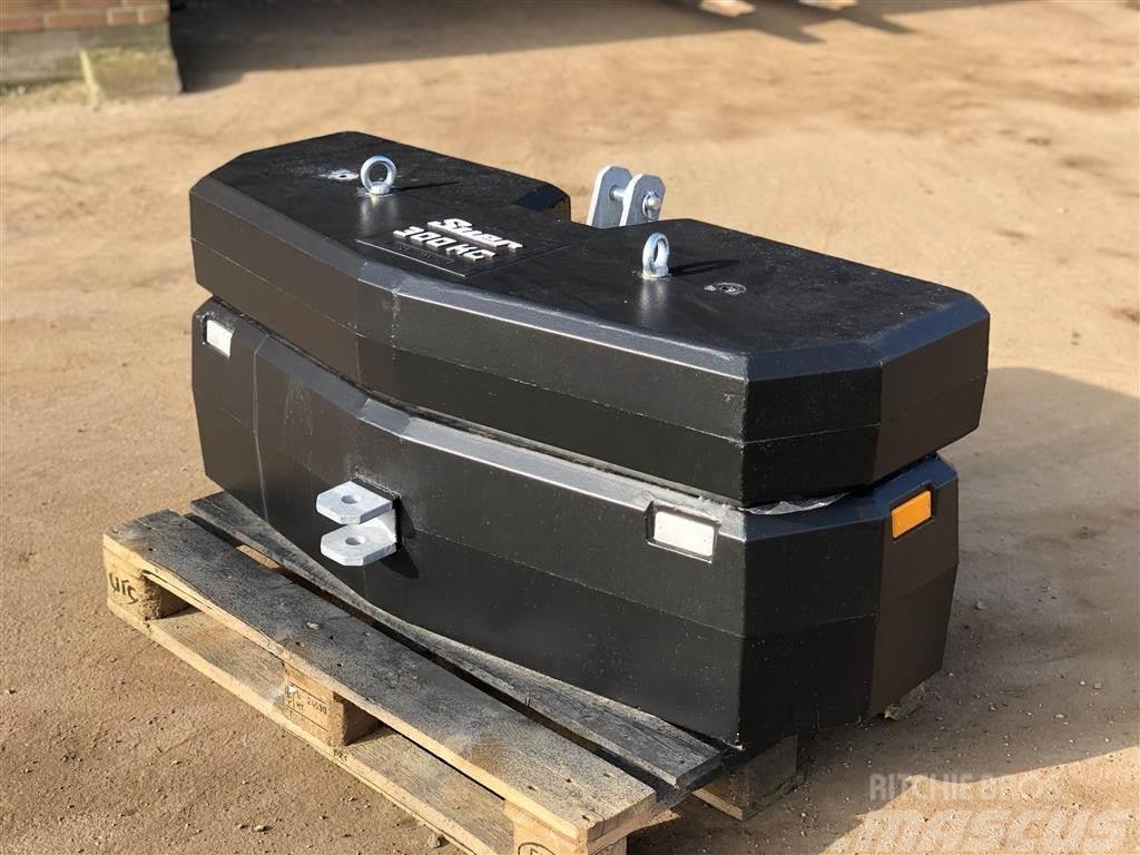 Allround vægtklods Suer kombi 650 kg / 950 kg - GRATIS LEVE