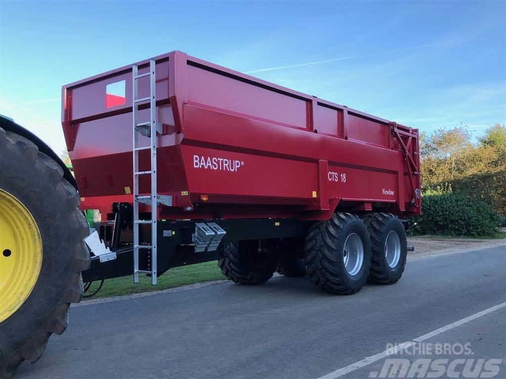 Baastrup 18t CTS - 26,5 hjul newline & græssider