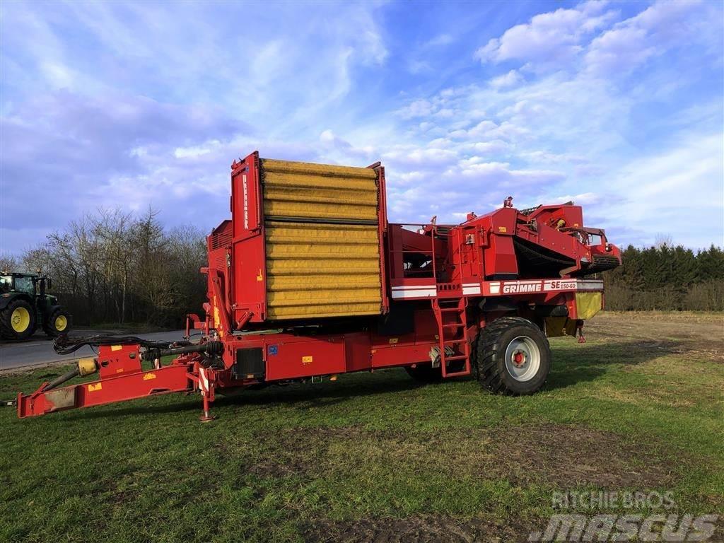 Grimme SE 150-60 med hjultræk XXL rensesystem