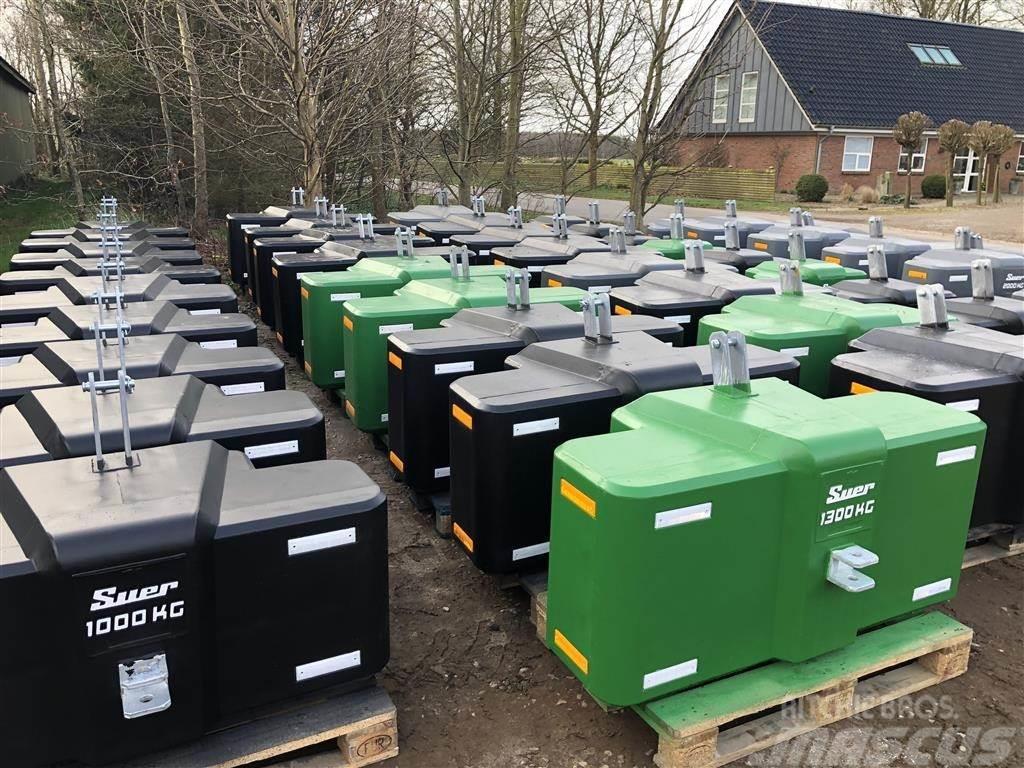[Other] Suer 1600kg kompakt frontvægt - www.suer.dk