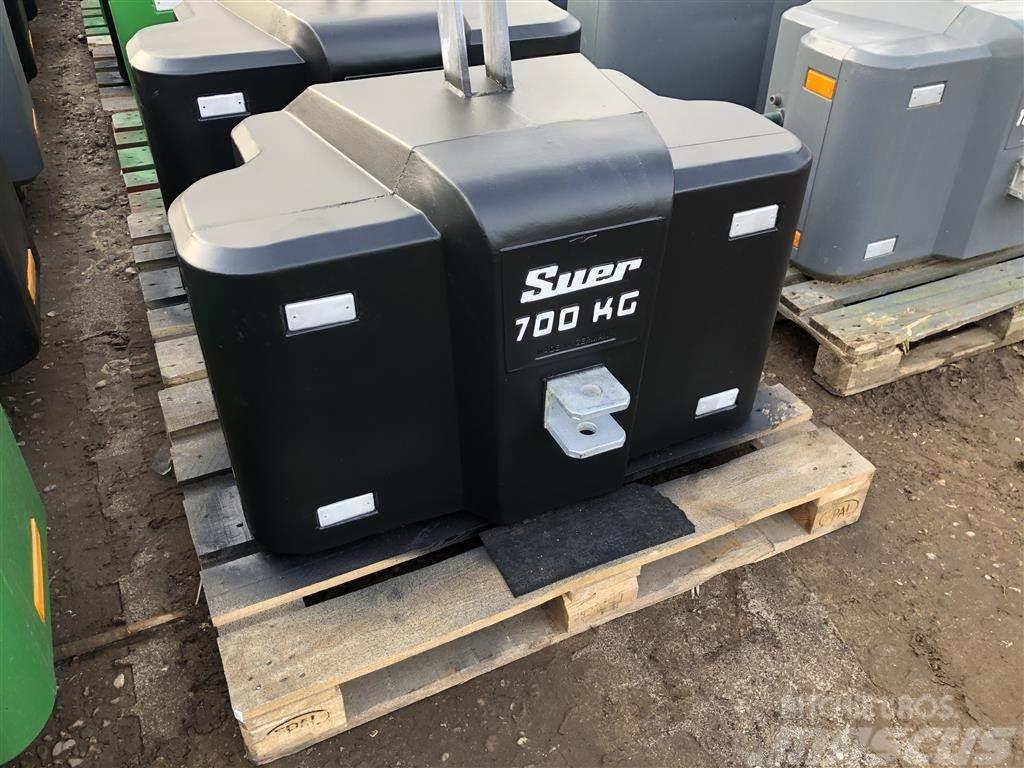 [Other] Suer 700kg kompakt frontvægt - www.suer.dk