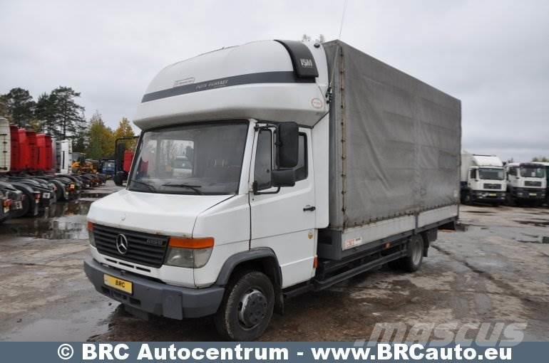 used mercedes benz vario curtain side trucks year 2001 price 4 941 for sale mascus usa. Black Bedroom Furniture Sets. Home Design Ideas