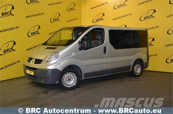 used renault trafic mini bus year 2010 price 6 783 for sale mascus usa. Black Bedroom Furniture Sets. Home Design Ideas