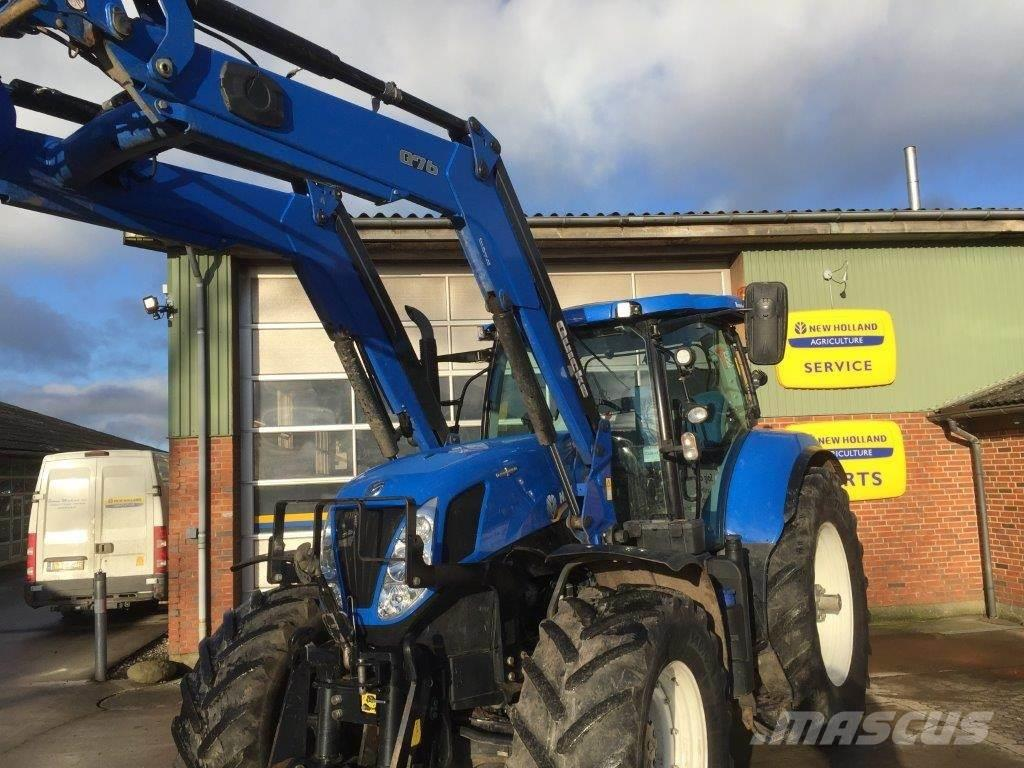 New Holland T7.220 Auto Command Med Ålø Q76 læsser