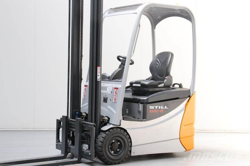 Used still rx50 13 electric forklift trucks year 2015 for for Electric forklift motor for sale