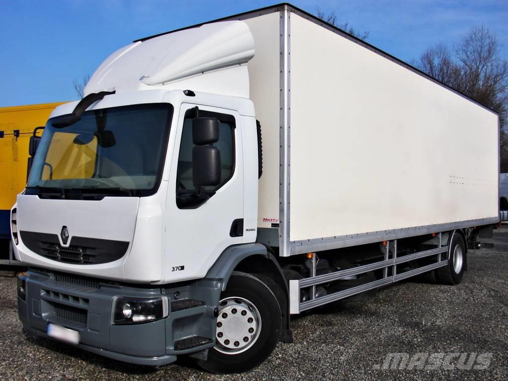 Renault Premium 370.19 Box 24 Pallets Lift A/C retarder