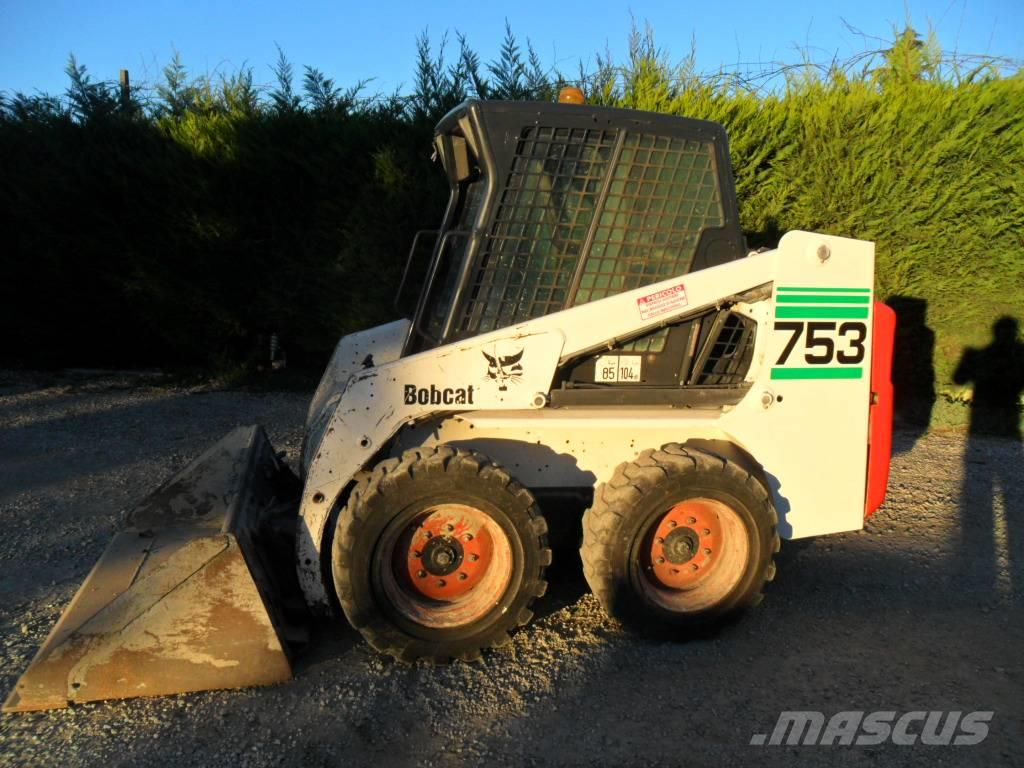 Bobcat 753 Price 8200 2003 Mini Loaders Mascus Ireland