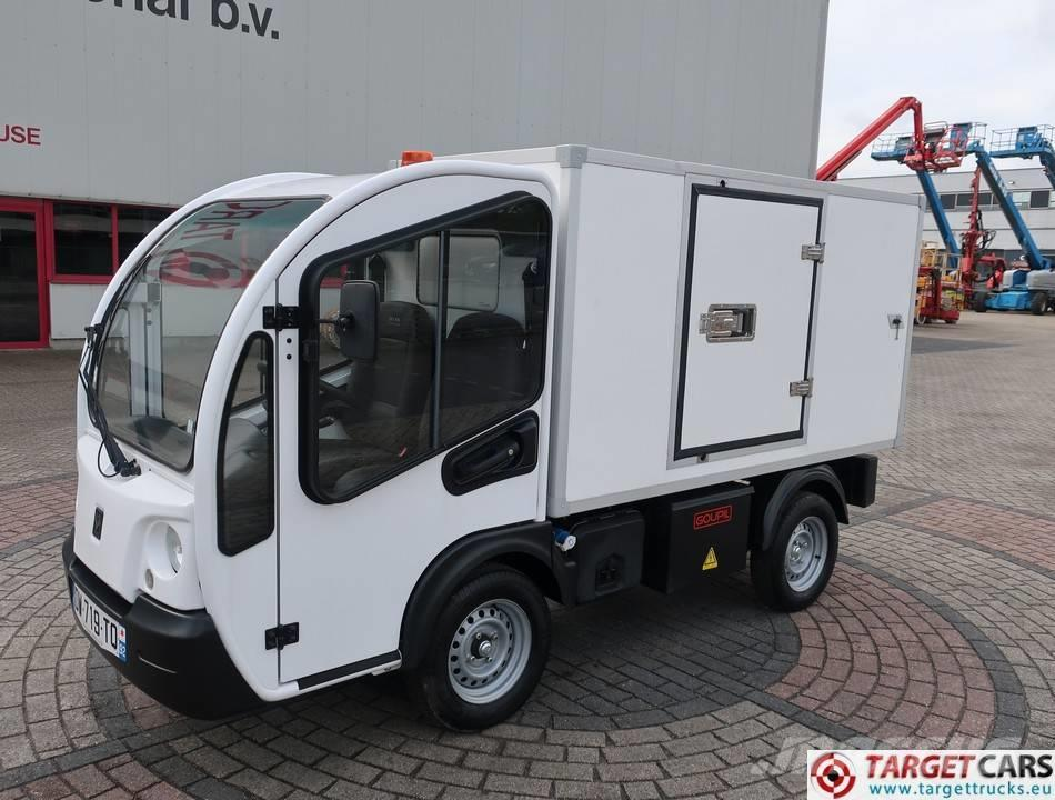Goupil G3 Utility Electric UTV Van Closed Isolated Box